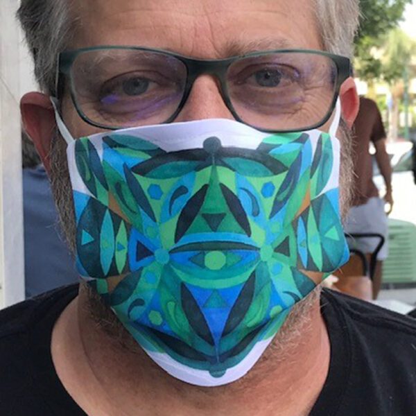 Client Wearing Ronski Face Mask   Face Masks by Ronski