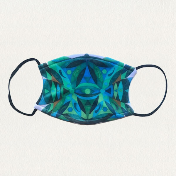 'Cool Colors' Face Mask