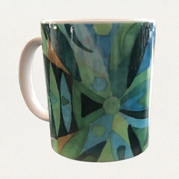 'Cool Colors' Beverage Mug
