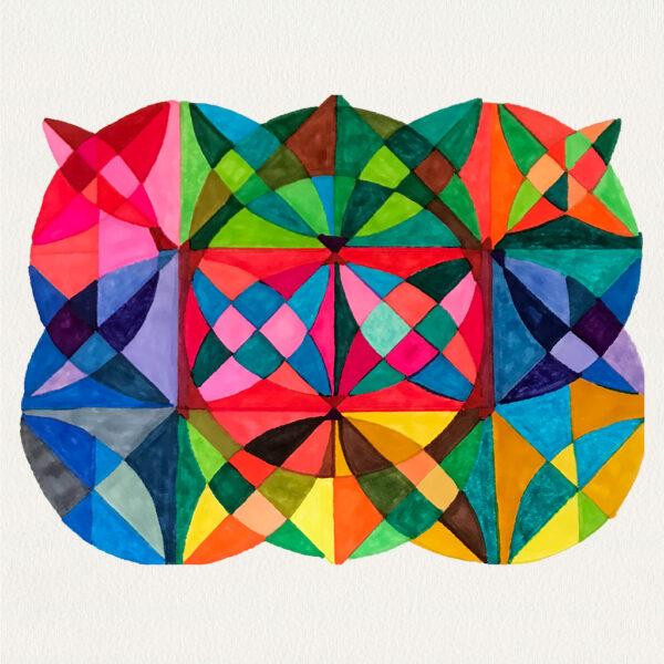 'Harlequin Circles'