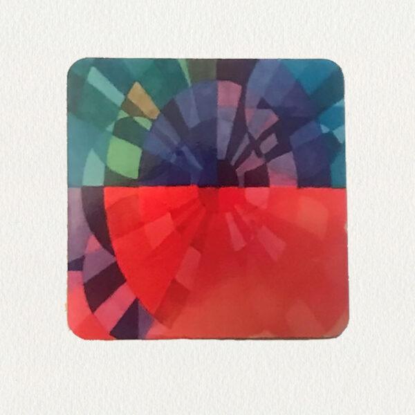 'Integrated Circles' Coaster