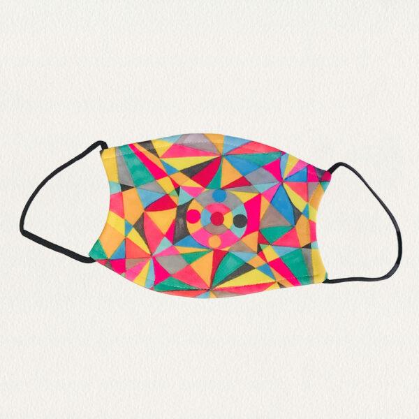 'Leanne's Colors' Face Mask