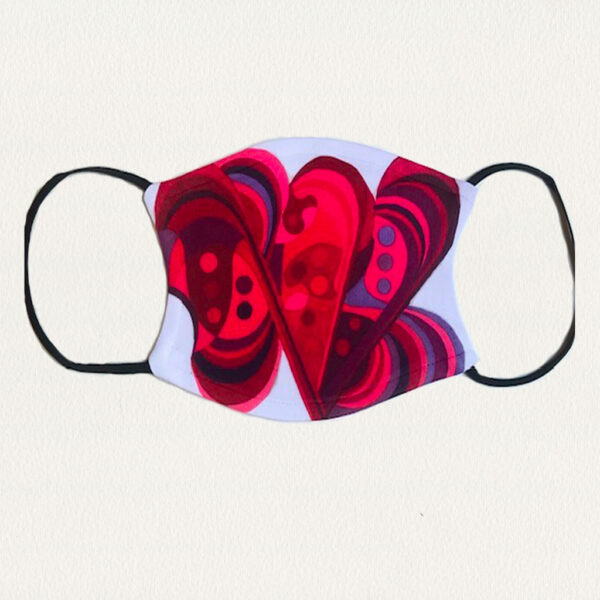 'Love Love Love' Face Mask