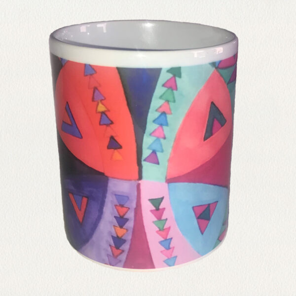 'Mirror Image' Beverage Mug