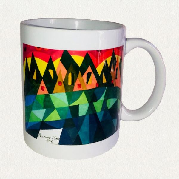 'Pandemic View' Beverage Mug