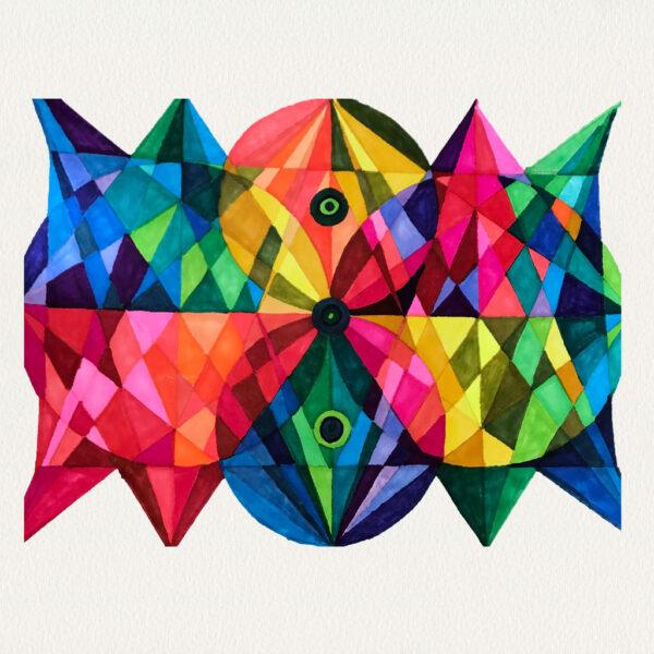 'Pyramid Circles XVIII'
