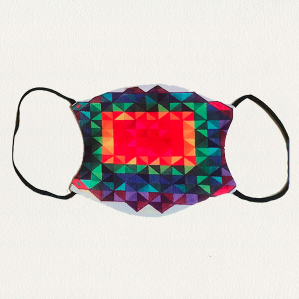 'Rainbow Colors' Face Mask