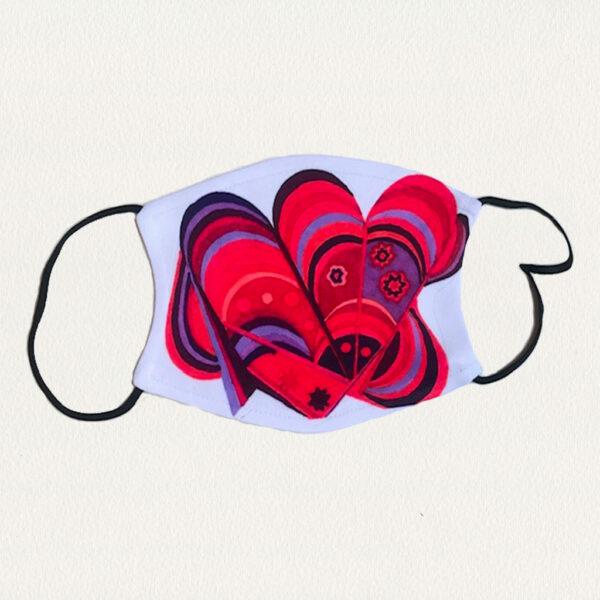 'So Many Hearts' Face Mask