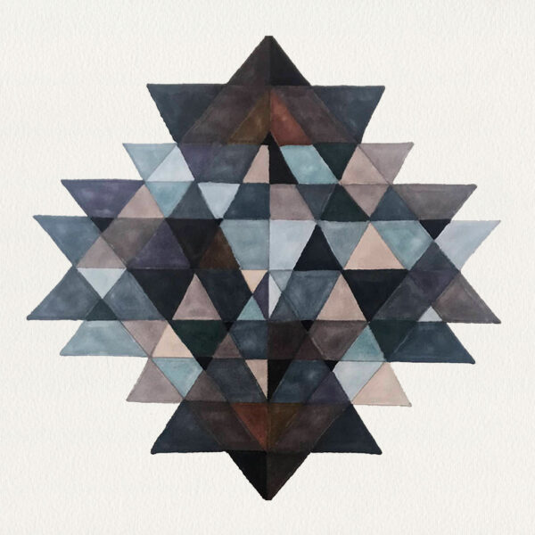 'Spiritual Intersecting Triangles'