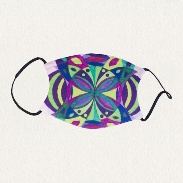 'Symmetry' Face Mask