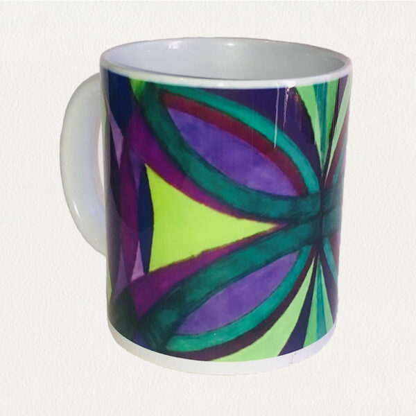 'Symmetry' Beverage Mug