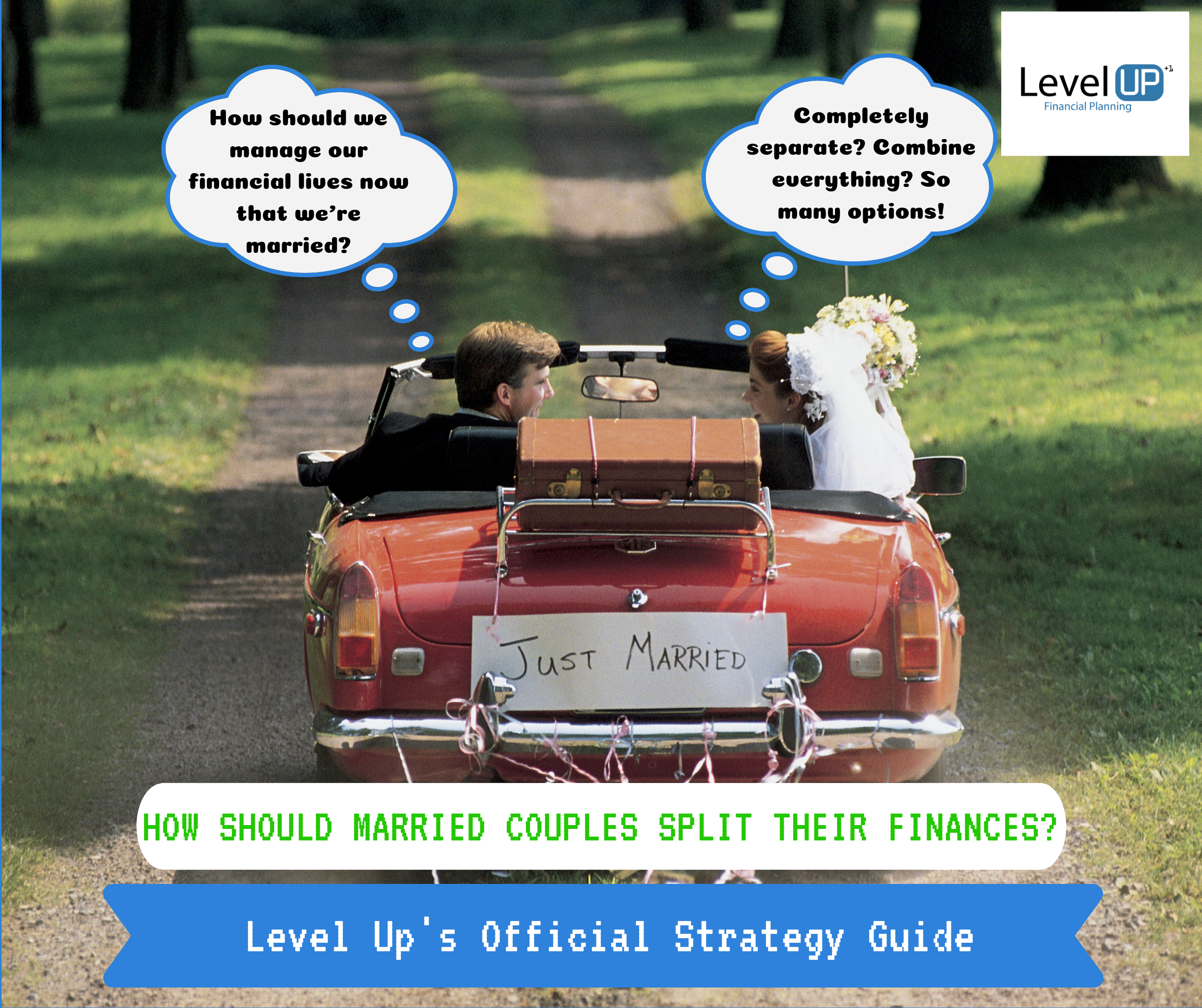 Married couple wondering how to split their finances