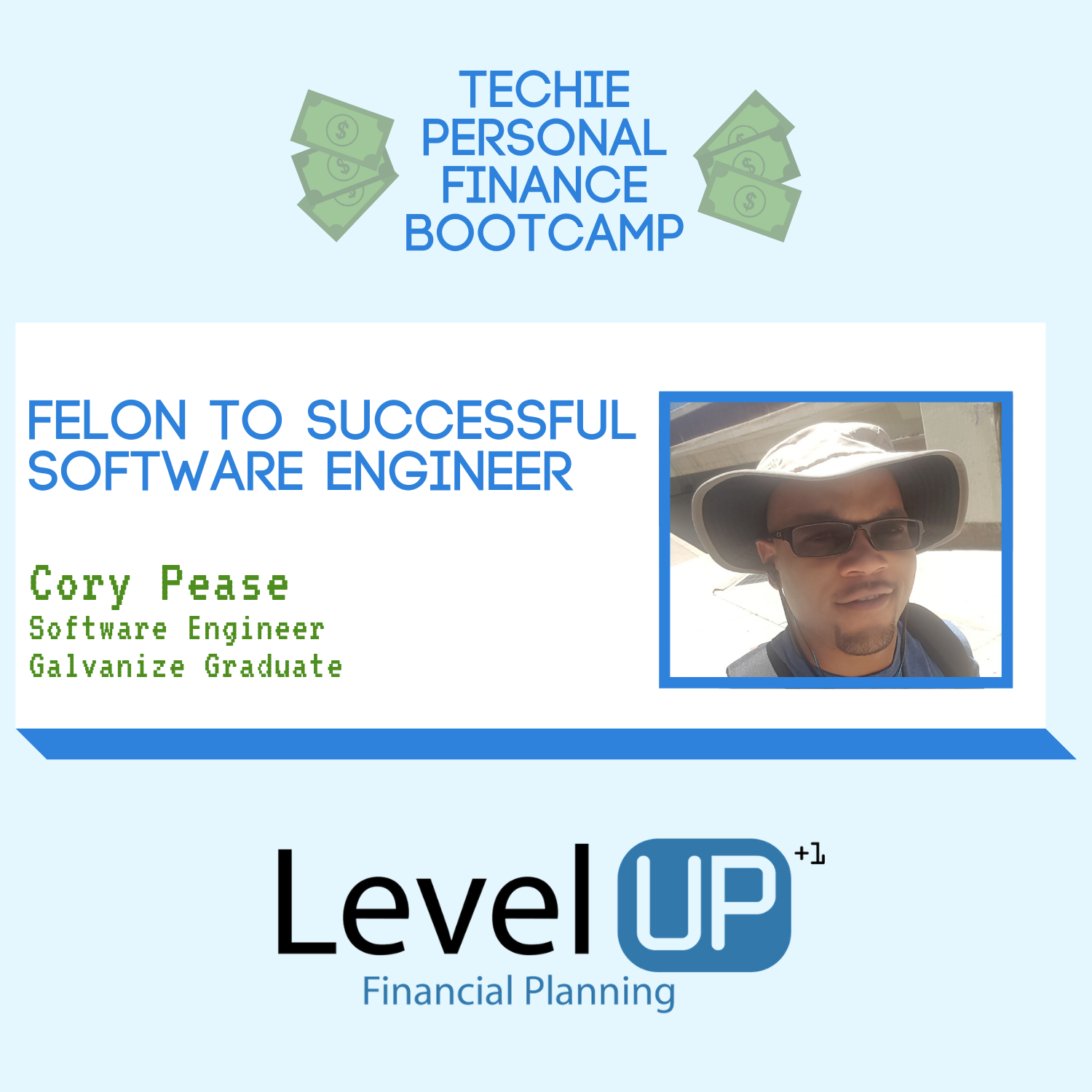 Cory Pease Cover Photo Successful Software Engineer