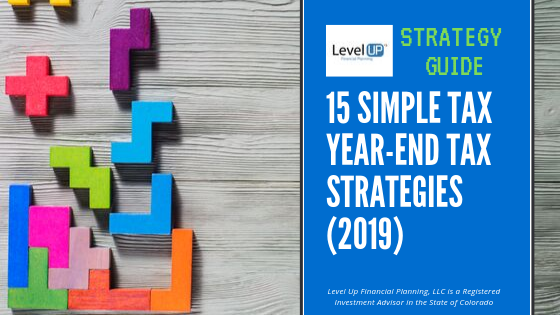 15 tax planning strategy cover