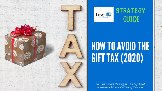 image of gift and tax cover for strategy guide post