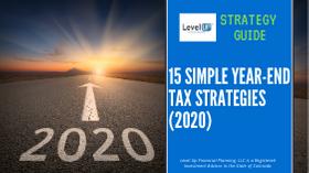 year end tax strategies