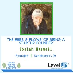 founder startup Josiah Haswell Sunshower.io