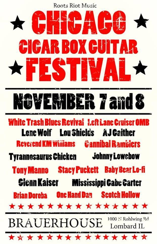 3rd Annual Chicago Cigar Box Guitar Festival