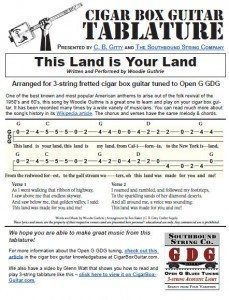 Click the image above to view the printable tablature sheet.