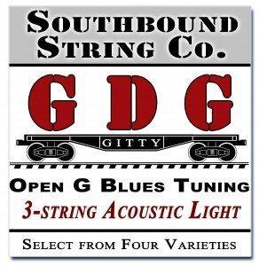 Open G GDG Cigar Box Guitar Strings