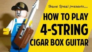 4-string Cigar Box Guitar Lessons