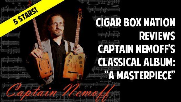 Captain Nemoff Cigar Box Guitar Album