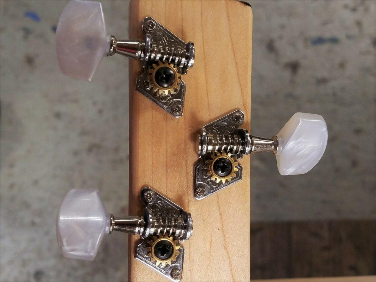 Easy Cigar Box Guitar Tuner Installation Guide