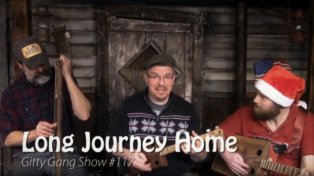 Long Journey Home performed by the Gitty Gang [VIDEO]