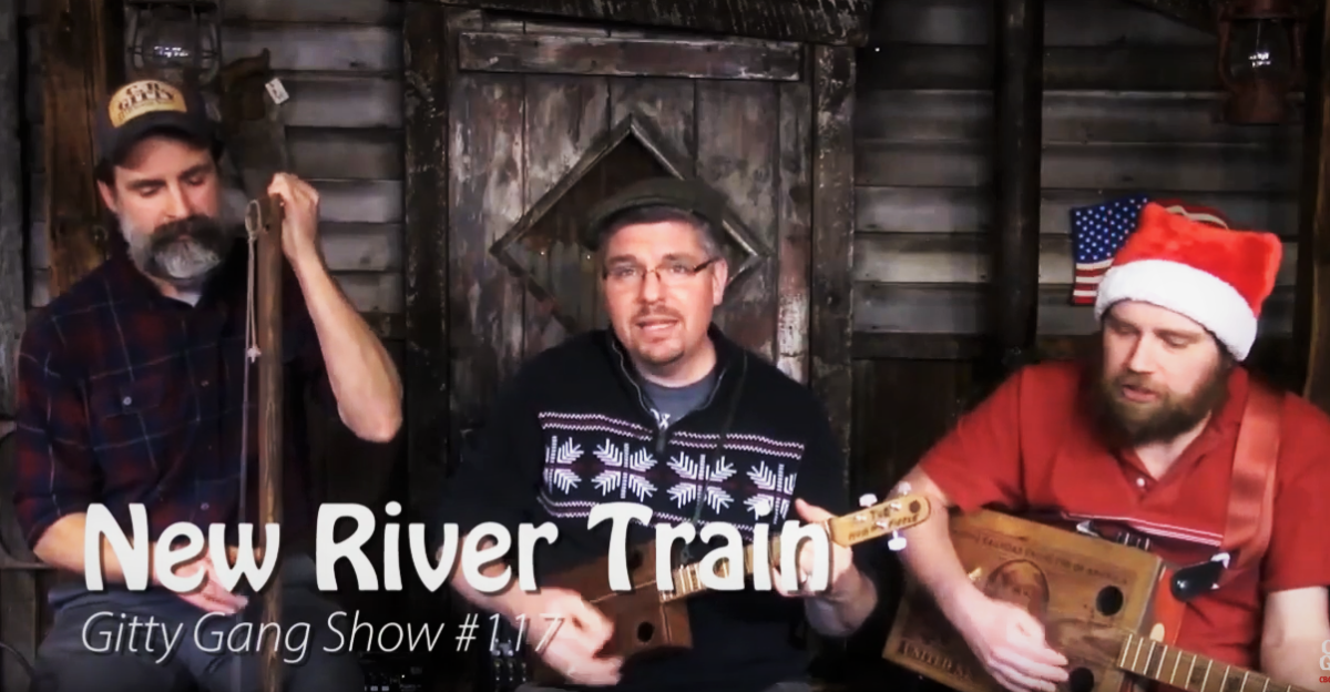 [VIDEO] New River Train performed live on the Gitty Gang Show