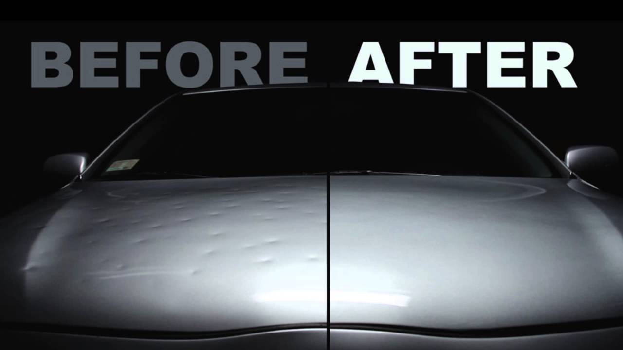Auto Hail Repair Before After
