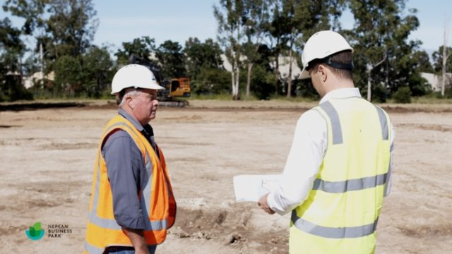 SITECH Solutions Trimble Earthworks machine control Ted Baker Nepean Business Park