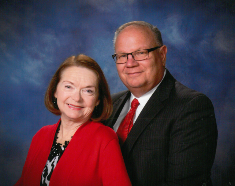 Pastor Marshall and Pat Stevens