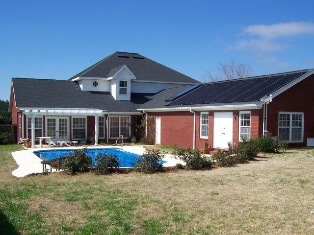 Solar pool panels & hot water
