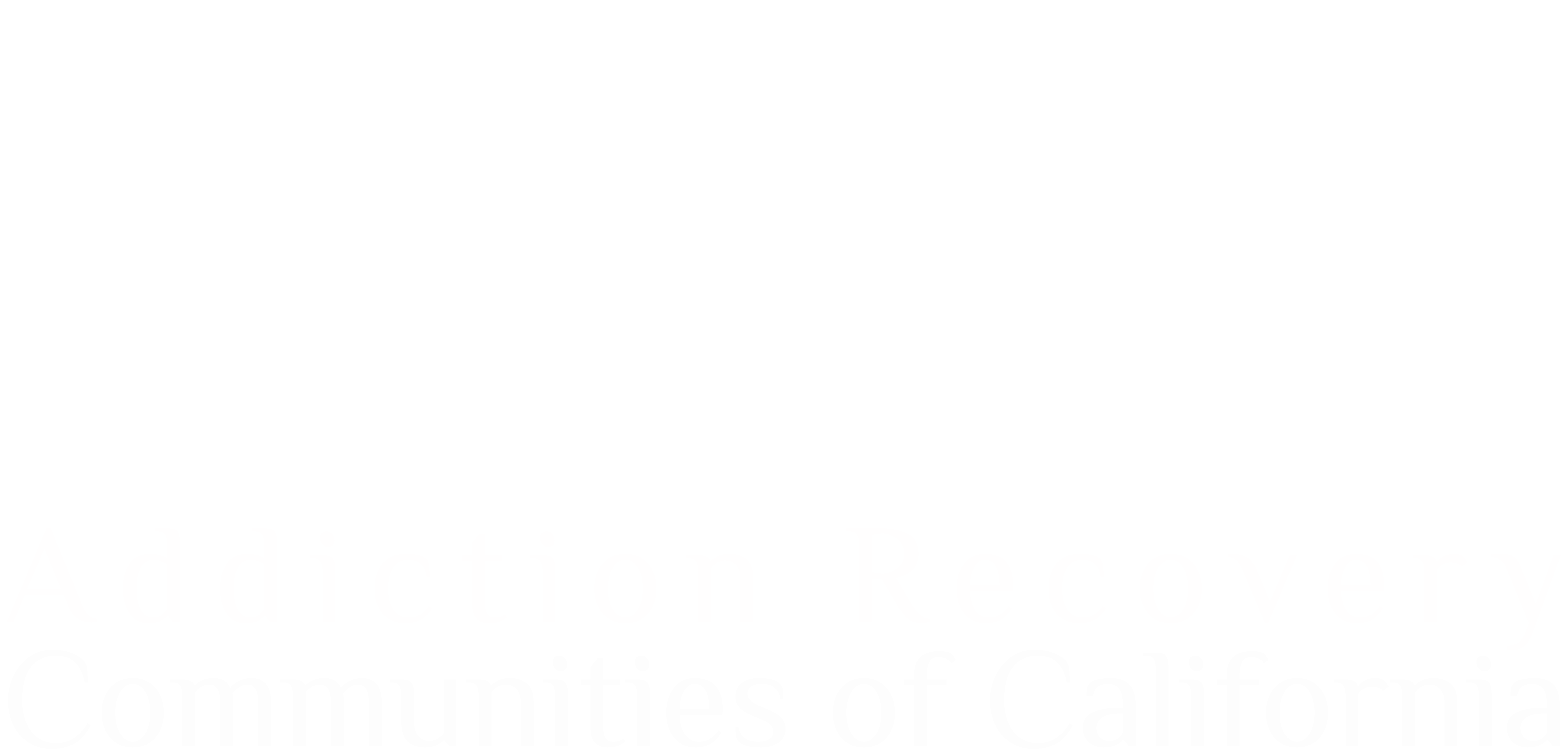Addiction Recovery Communities of California