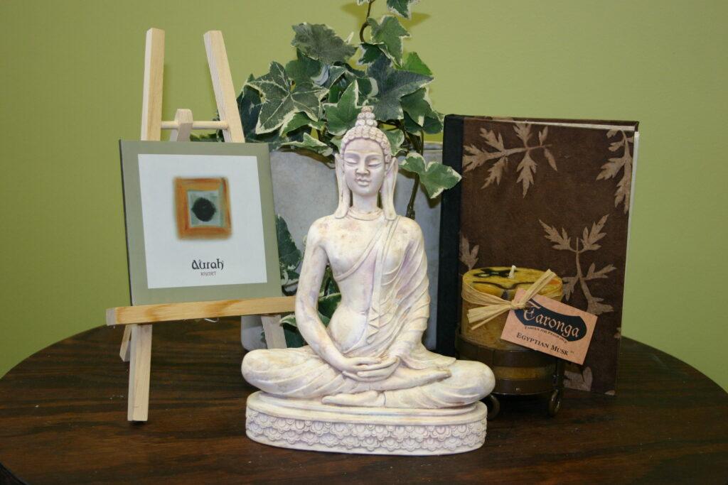 Image of bodhisattva meditating