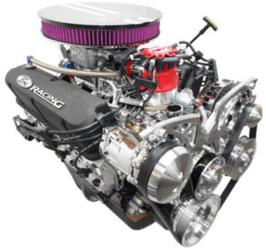 Engine Factory 302 with Black Covers and MSD EFI