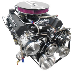 Engine Factory 350 Black Valve covers