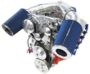 Engine Factory 350 Chevy Alt, and AC with Snorkel Air cleaner