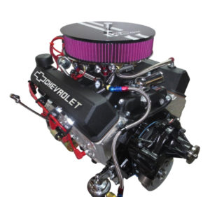 Engine Factory 350 engine with Black Valve covers