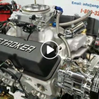 Chevy 383 Stroker with AFR Heads