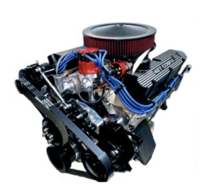 #11 363 or 427 Ford with Black Valve covers and air cleaner Black Alternator and PS pump