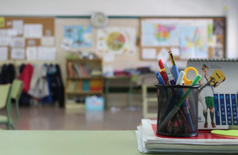 Inside a classroom