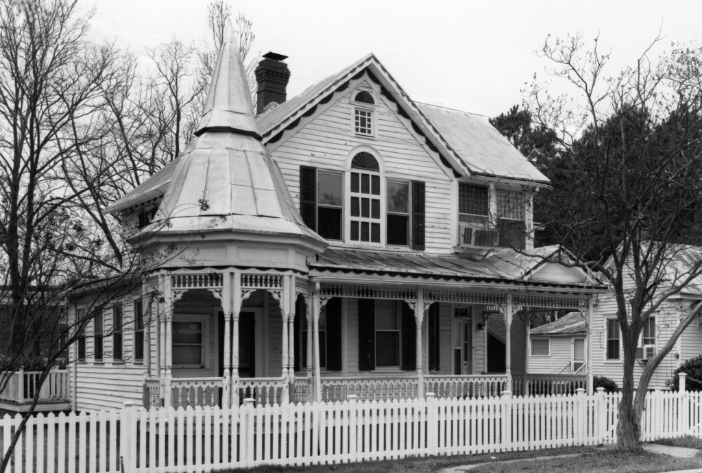 Hannibal Badham, Jr.'s home, built by his father