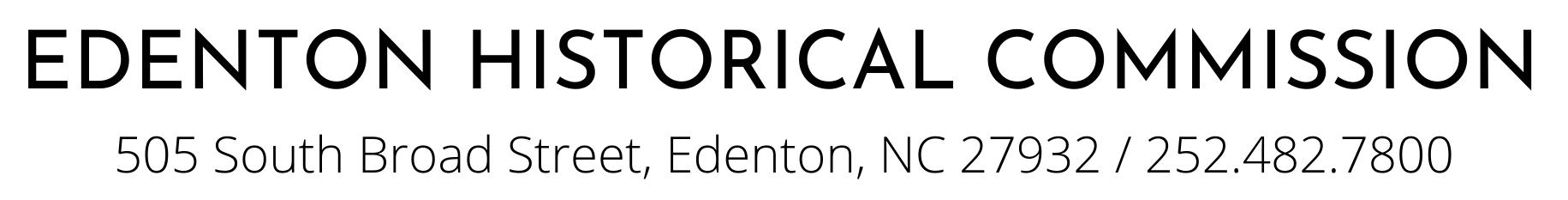 Edenton Historical Commission