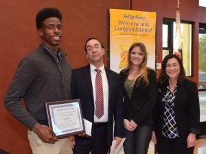 Future Leaders Allan Cullen Scholarship Award ceremony