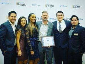 Cullen insurance award ceremony
