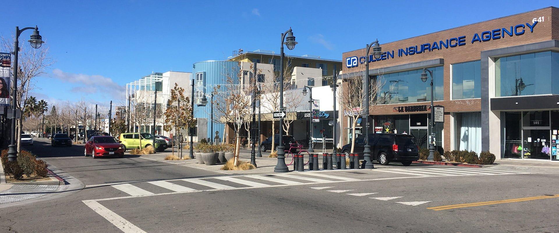 Downtown Lancaster, CA