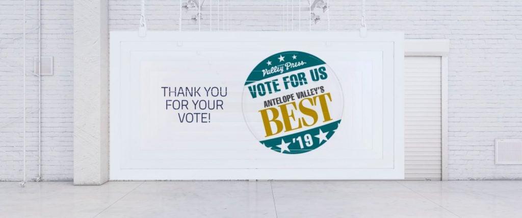 Vote for Antelope Valley's Best Insurance