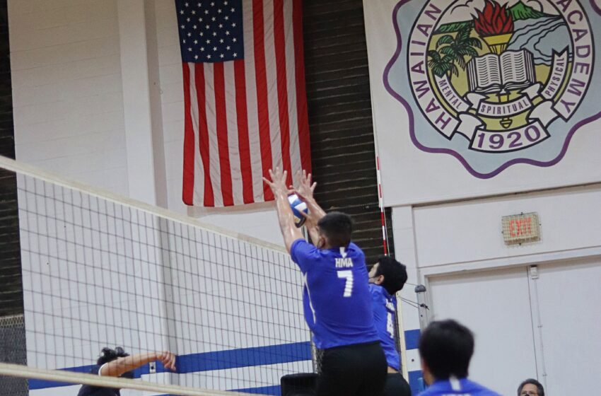 Momentous First 2021 ILH Volleyball Match Through The Camera Lens of Hawaiian Mission Yearbook Staffer Ah-Hyun Jo