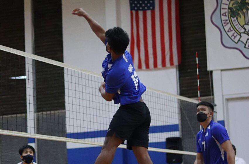 ILH Spring Begins: Hawaiian Mission And Island Pacific Meet In Momentous Volleyball Match